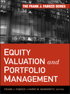 Equity Valuation and Portfolio Management (eBook)